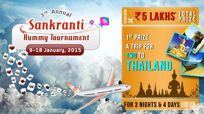 Sankranti Rummy Tournament
