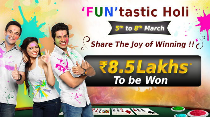 holi rummy tournament
