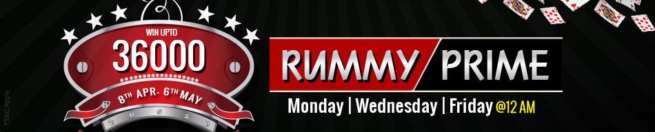 rummy prime tournaments