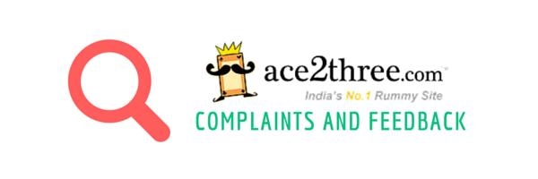 ace2three complaints