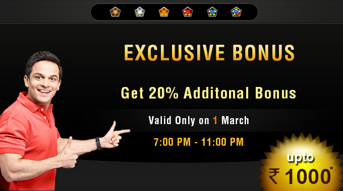 Exclusive Bonus at Rummy Cirlce