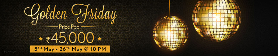 Golden Friday Tourney at Adda52