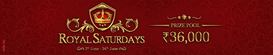 Royal Saturdays at Adda52