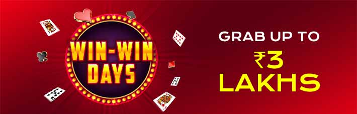 win-win-days rummy promotion