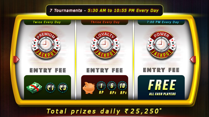 7 daily rummy tournaments rummycircle