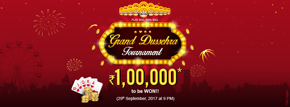 KhelPlay rummy tournament dussehra