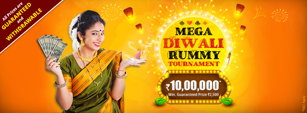 mega diwali rummy tournament khelplay
