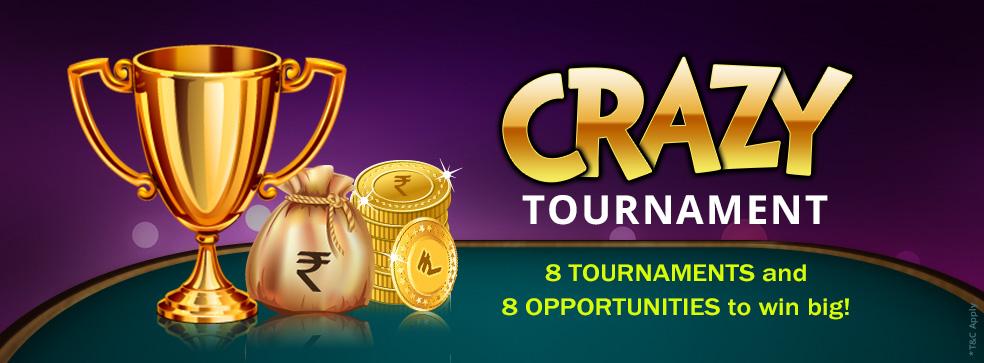 crazy khelplay rummy tournaments