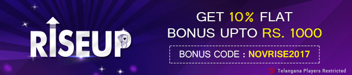 Rise Up bonus at Ace2Three