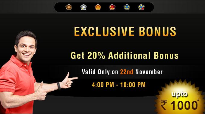 rummy bonus offer RummyCircle