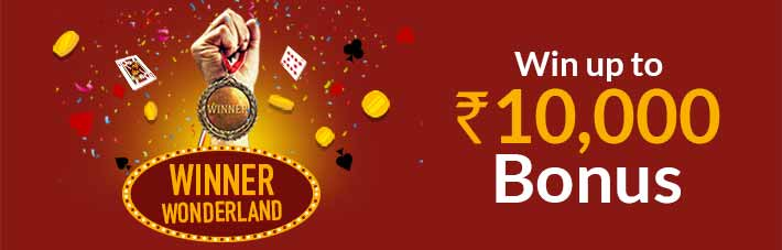 winner wonderland junglee rummy bonus
