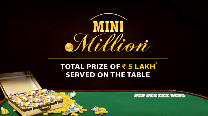 mini million rummy tournaments rummycircle