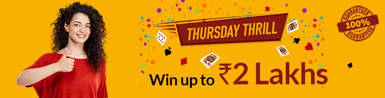 thursday thrill cash rummy junglee