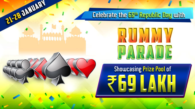republic day cash rummy tournaments