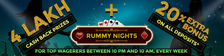 classic rummy nights promotion cashback